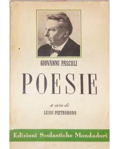 POESIE Giovanni Pascoli