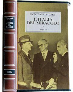 L'ITALIA DEL MIRACOLO di Montanelli & Cervi