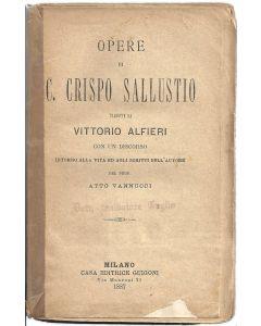 OPERE di C. Crispo Sallustio