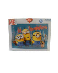 Puzzle Minion Le Buddies - 112 pz