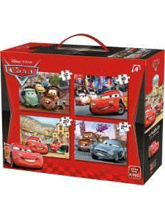 Puzzle Cars - Disney Pixar - 4in1