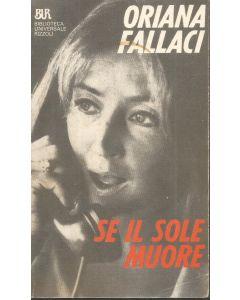 SE IL SOLE MUORE di Oriana Fallaci