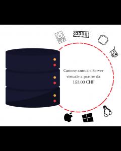 Canone annuale Server Virtuale a partire da