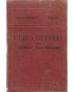GUIDA D'ITALIA del Touring Club Italiano - Italia centrale - Vol. IV