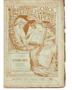 IL LIBRO D'ORO DEL SAPERE - Letteratura Francese di Lucio D'Ambra e Alberto Orsi