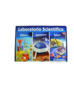 Laboratorio Scientifico Clementoni 3in1