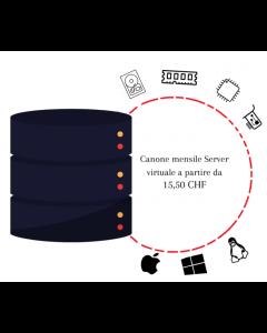 Canone mensile Server Virtuale a partire da