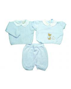 Completo neonato 3 pezzi Sàfer Baby