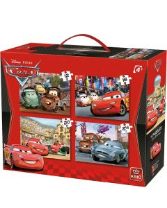 Puzzle Cars - Disney Pixar - 4in1