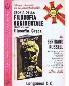 STORIA DELLA FILOSOFIA OCCIDENTALE-Filosofia Greca di Bertrand Russell